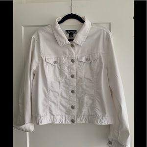 d.jeans Retro 90's White Jean Jacket